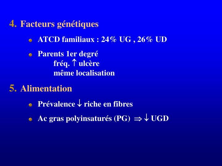 Facteurs génétiques