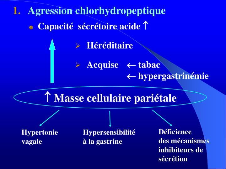 Capacité  sécrétoire acide