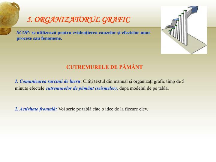 5. ORGANIZATORUL GRAFIC
