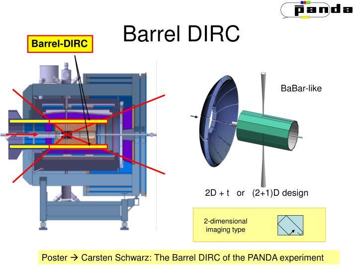 Barrel DIRC