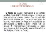 ms excel concepte de baz 1