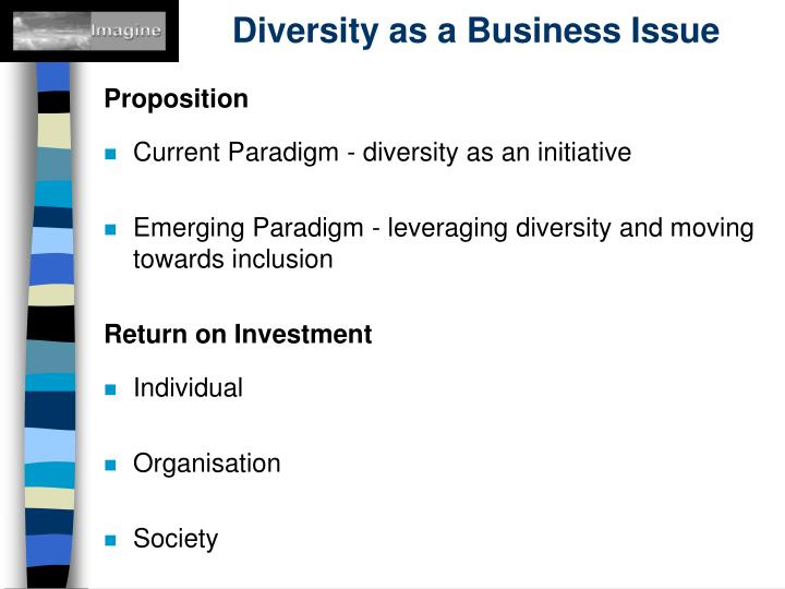 Diversity as a Business Issue