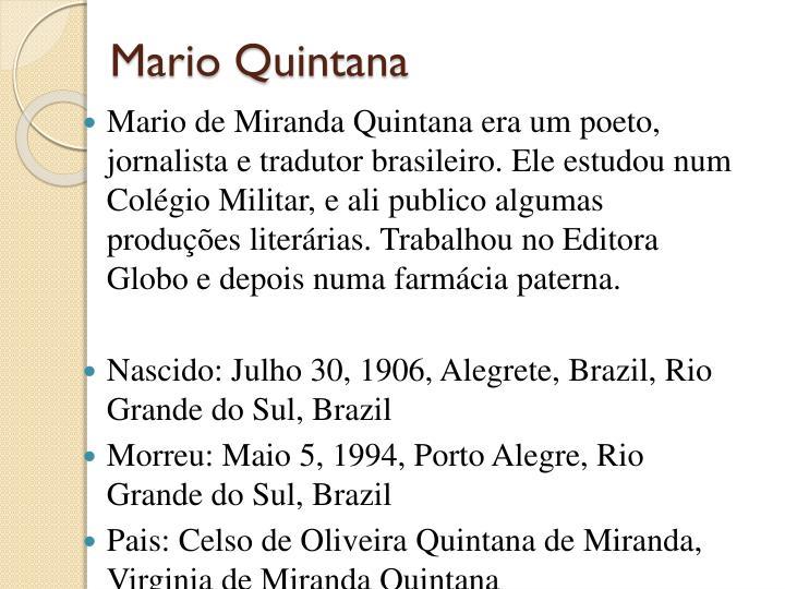 Mario Quintana