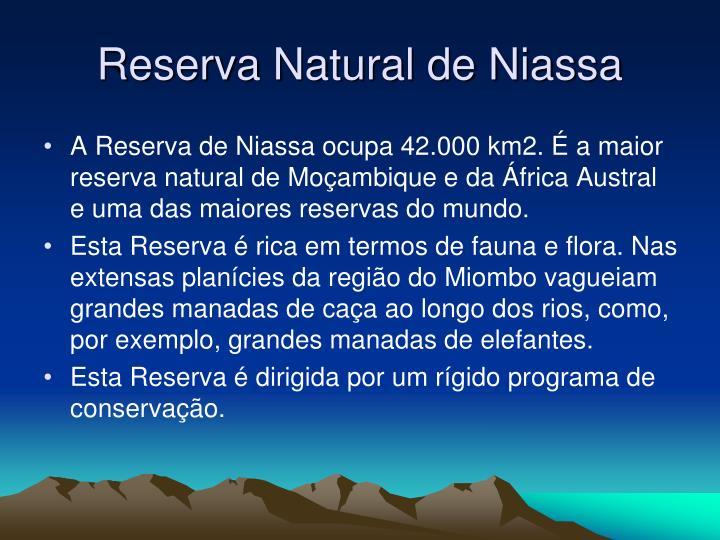 Reserva Natural de Niassa