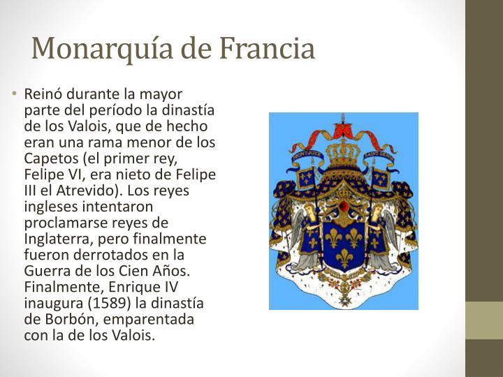 Monarquía de Francia