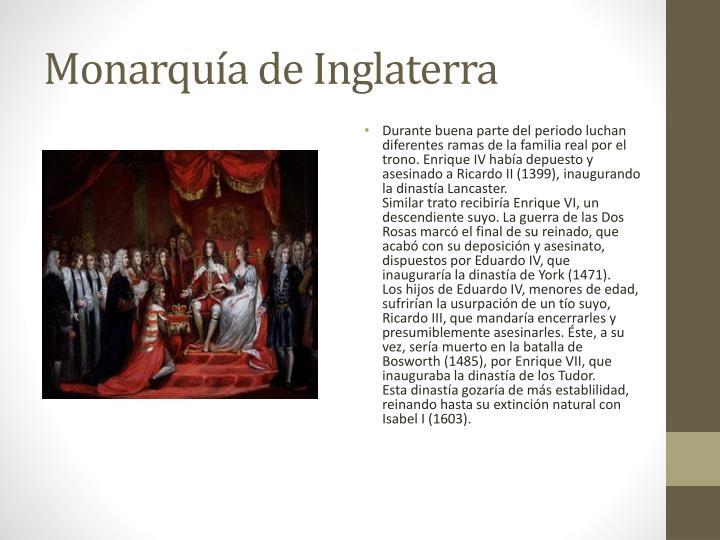 Monarquía de Inglaterra