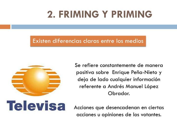 2. FRIMING Y PRIMING