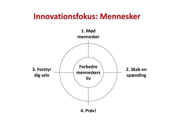 Innovationsfokus: Mennesker