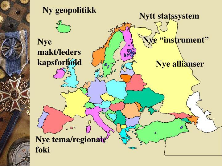 Ny geopolitikk