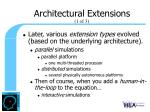 architectural extensions