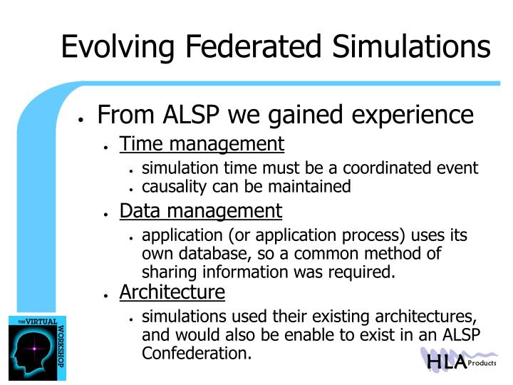 Evolving Federated Simulations