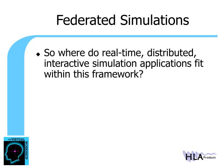 Federated Simulations