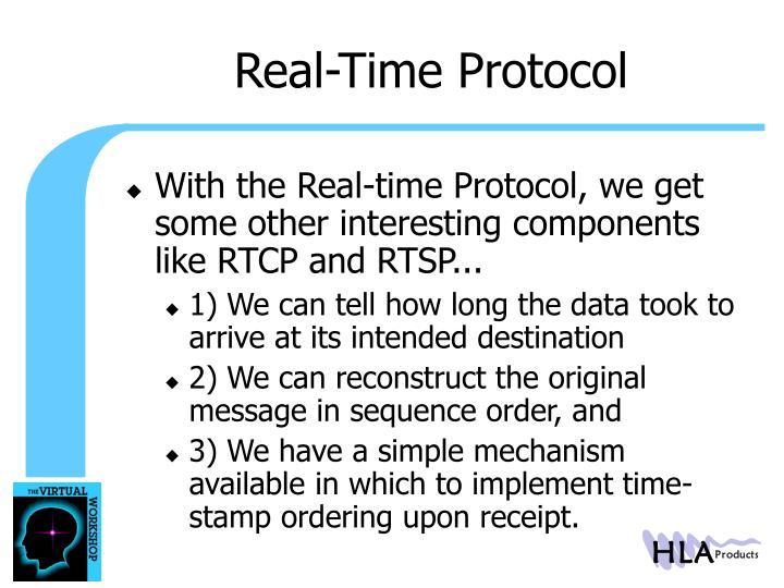 Real-Time Protocol
