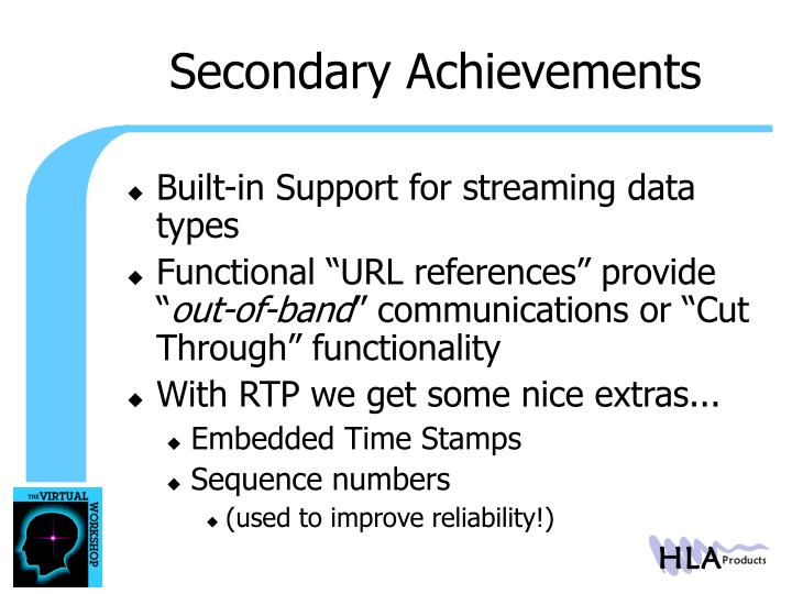 Secondary Achievements