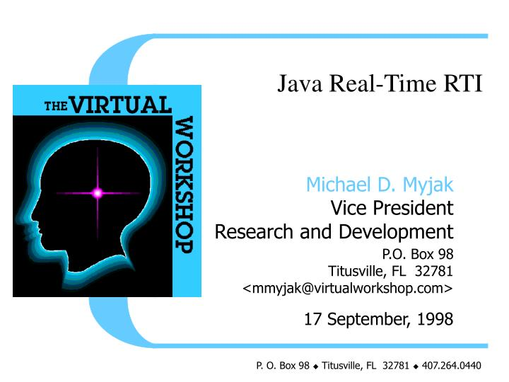 Java Real-Time RTI