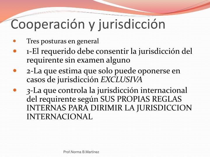 Cooperación y jurisdicción