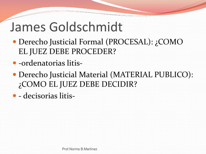 James Goldschmidt