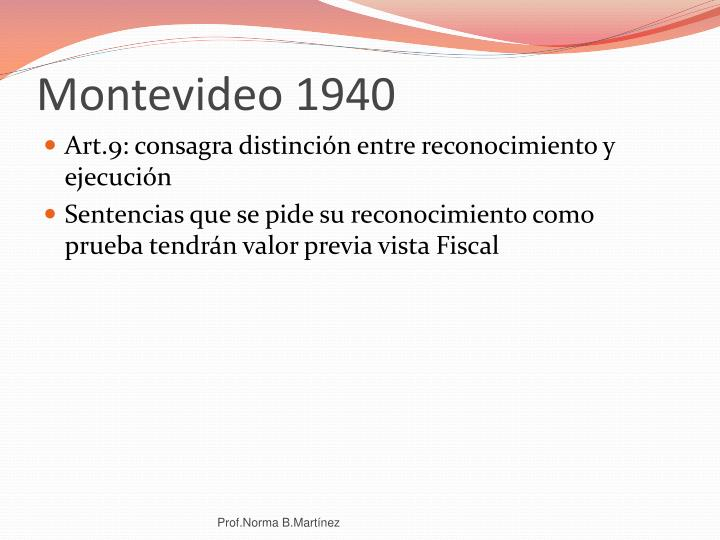 Montevideo 1940