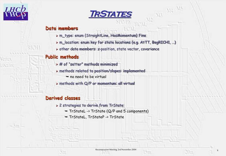 TrStates