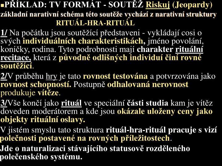 PKLAD: TV FORMT - SOUT