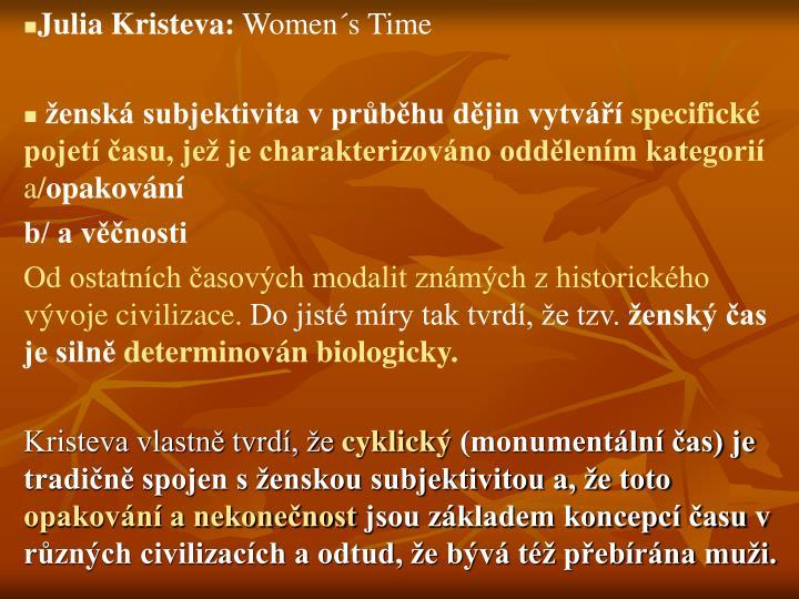 Julia Kristeva: