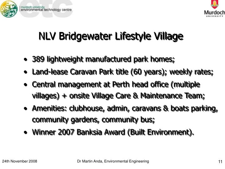 NLV Bridgewater Lifestyle Village