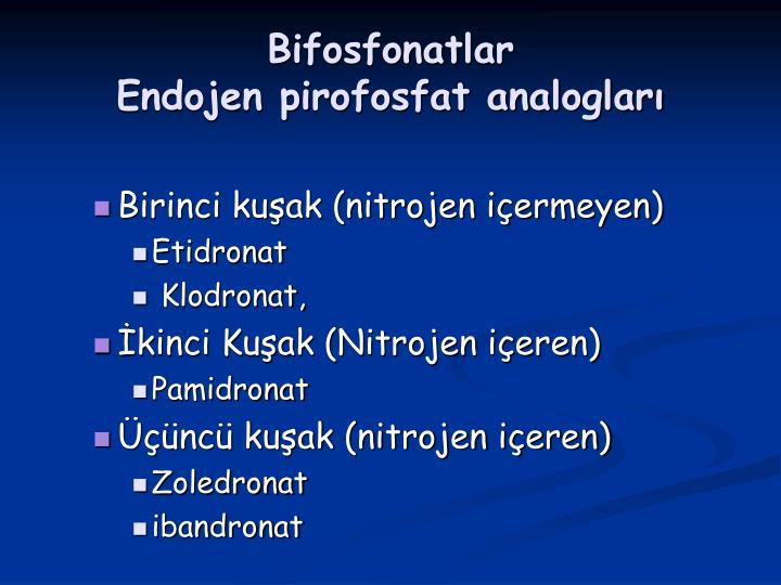 Bifosfonatlar