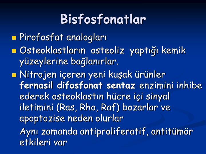 Bisfosfonatlar