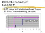 stochastic dominance example 1