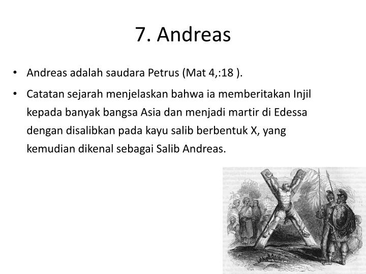 7. Andreas