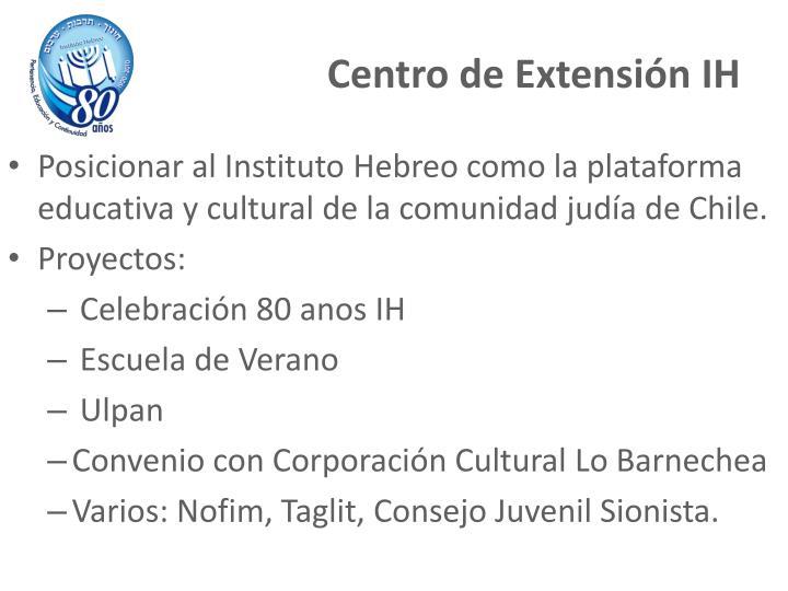 Centro de Extensión IH