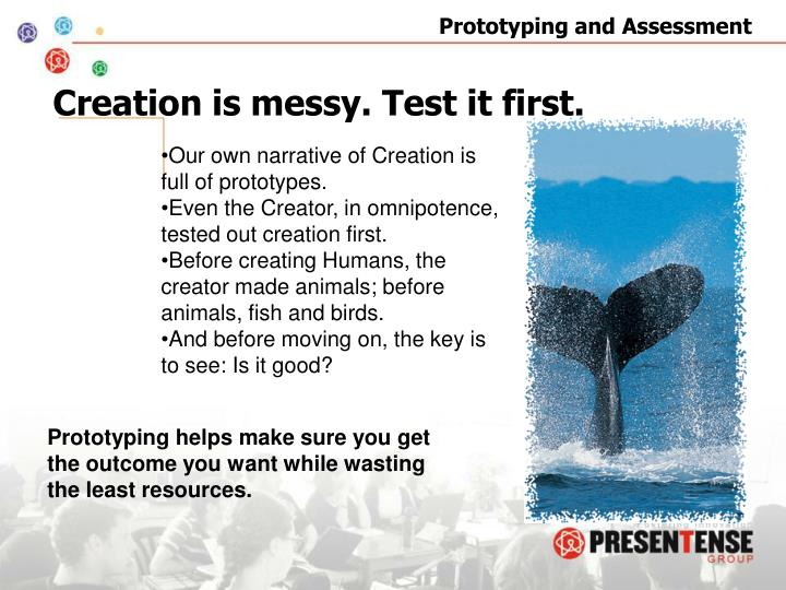 Creation is messy. Test it first.