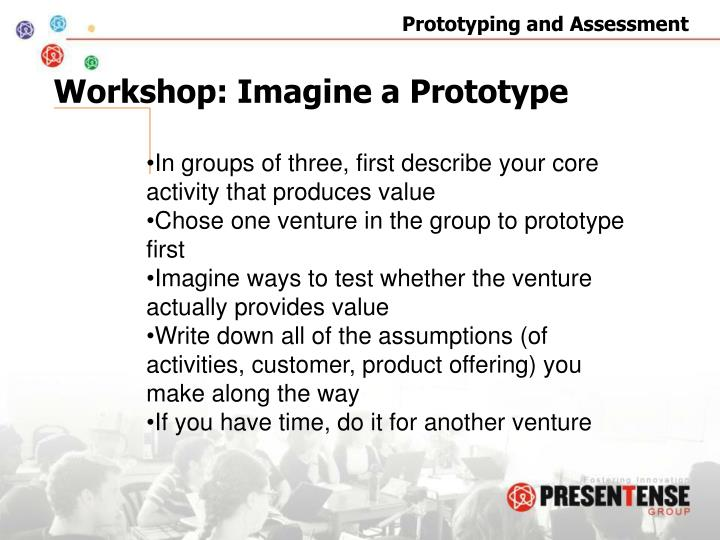 Workshop: Imagine a Prototype