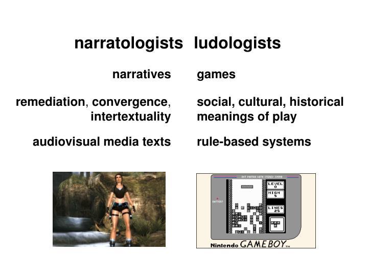 narratologists