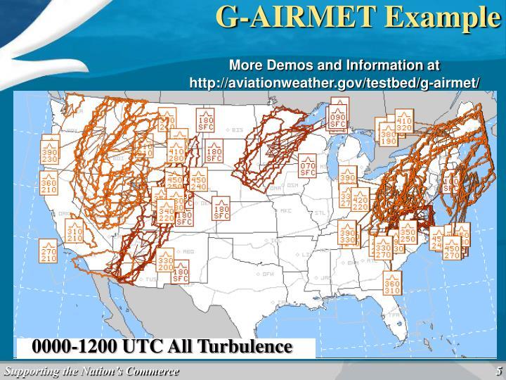0600 UTC Turbulence –High Level