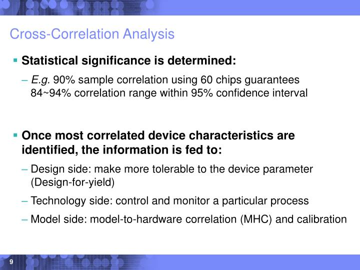 Cross-Correlation Analysis