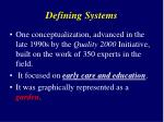 defining systems2