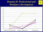 domain ii professional and workforce development