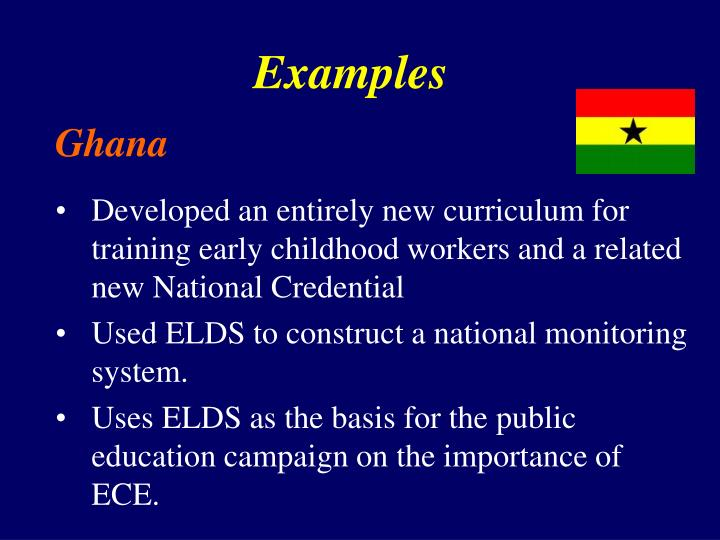 Developed an entirely new curriculum for training early childhood workers and a related new National Credential