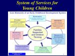 system of services for young children10