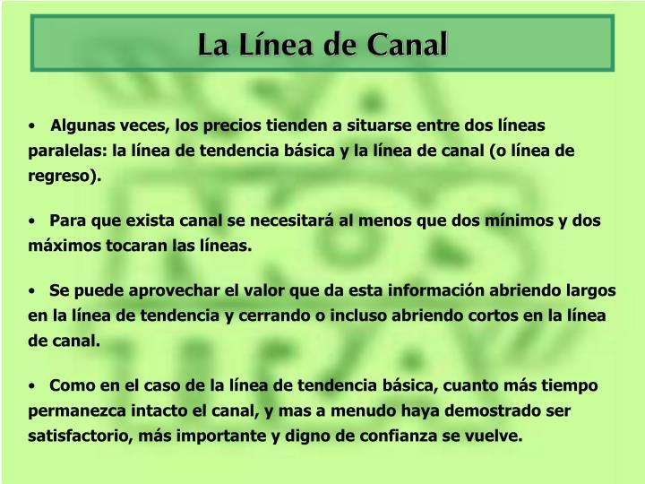 La Línea de Canal