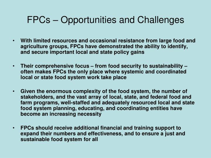 FPCs – Opportunities and Challenges