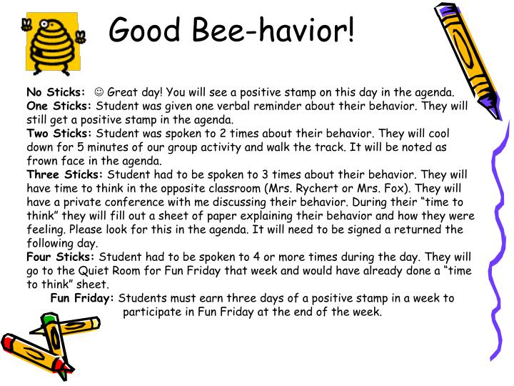 Good Bee-havior!