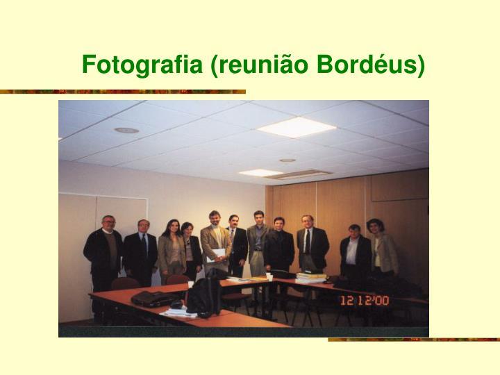 Fotografia (reunião Bordéus)
