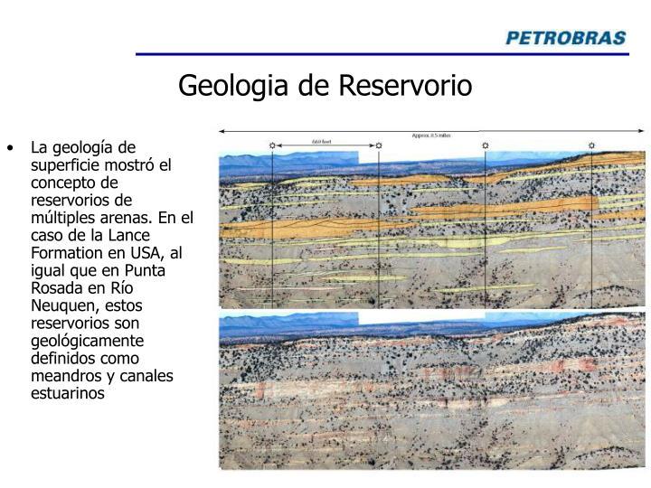 Geologia de Reservorio