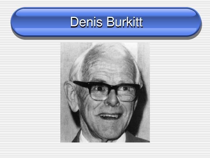 Denis Burkitt