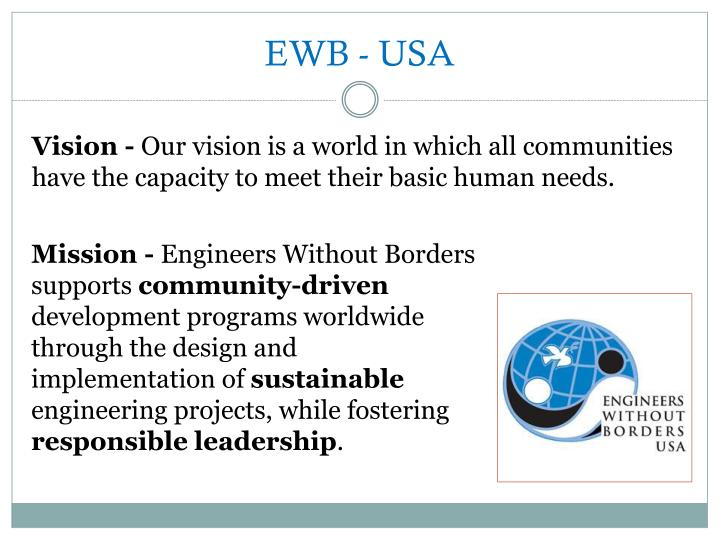 EWB - USA
