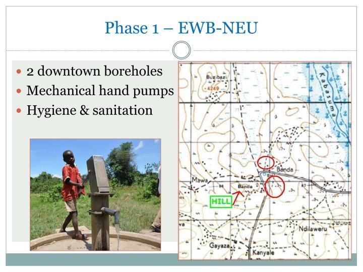 Phase 1 – EWB-NEU