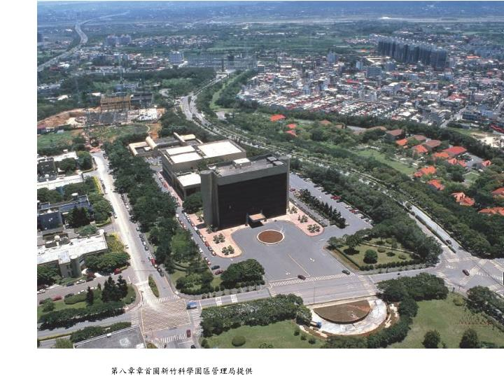 第八章章首圖新竹科學園區管理局提供