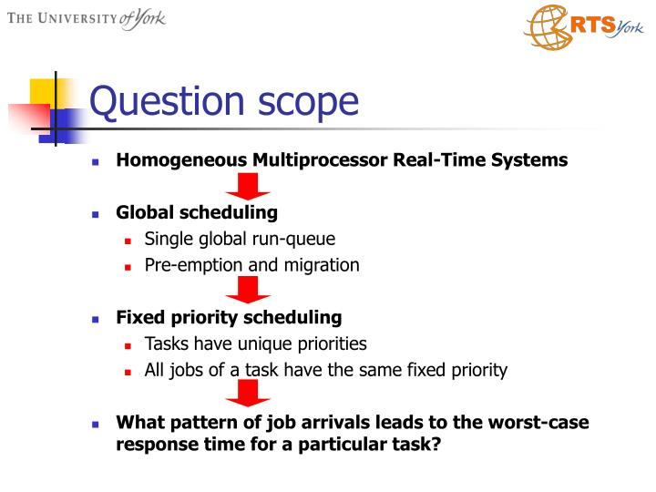 Question scope